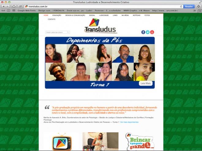 Transludus_site
